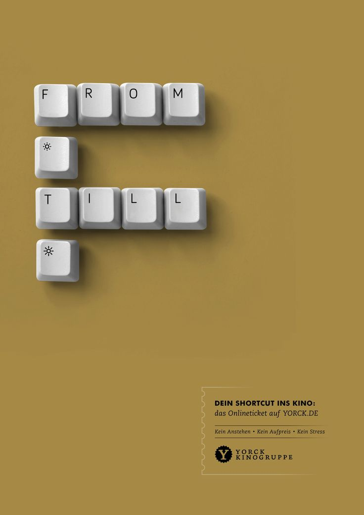 Yorck Cinemas: From Dusk till Dawn | Ads of the World™