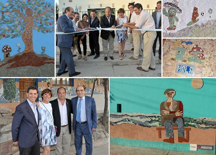 Inauguración de Murales en el Barrio El Milagro.