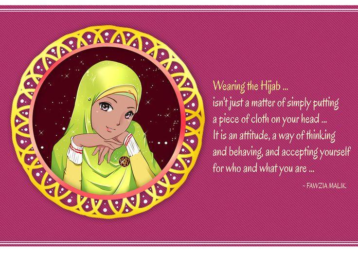 Hijab is a Way of Life by ainosora