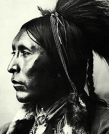 My most favorite picture of my great-great-grandfather, TwoHatchet!  Handsome, audacious Kiowa Warrior!