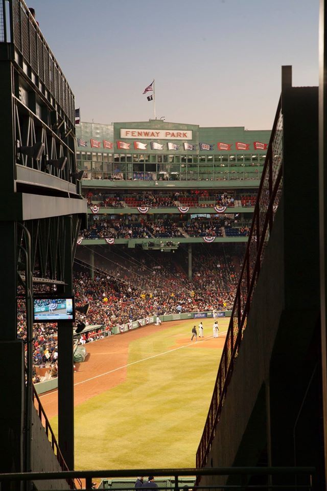 Fenway Park opened its gates for the first time 104 years ago today! Happy Birthday, Fenway Park! 20 April 2016