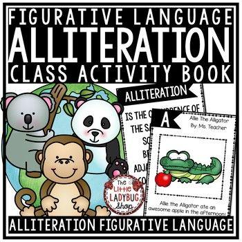 Alliteration Activities with Figurative Language ...