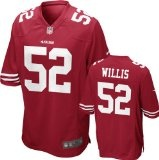 San Francisco 49ers New Patrick Willis Nike Jerseys - Fit to show your pride