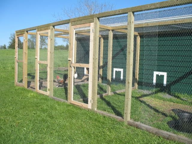 70 best images about chicken coops garden enclosures on for Enclosed chicken run plans
