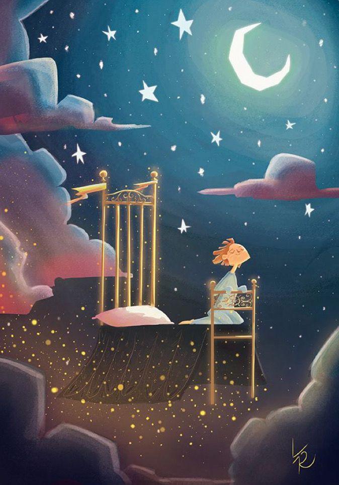 Картинки, картинки про ночь и сон