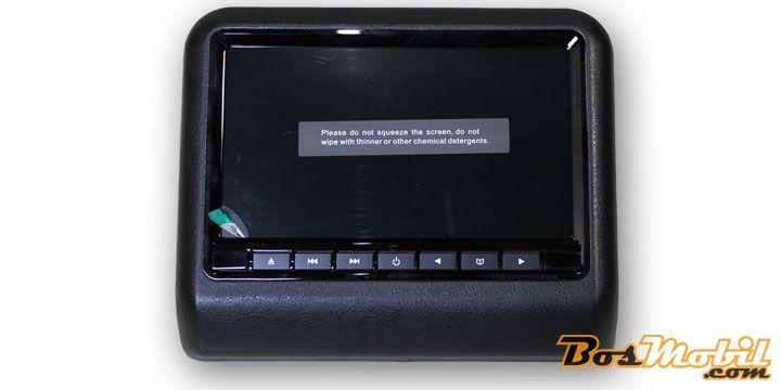 Rodek DVD Player : Layar Visual 9 Inch Plus Media Data Independen