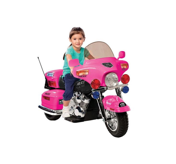 Girls Motorcycle Ride On Toy 12v Battery Powered Electric