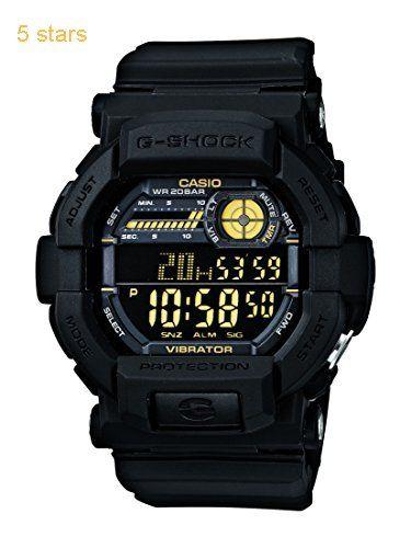G-Shock Digital Black Dial Mens Watch  GD-350-1BDR (G441)