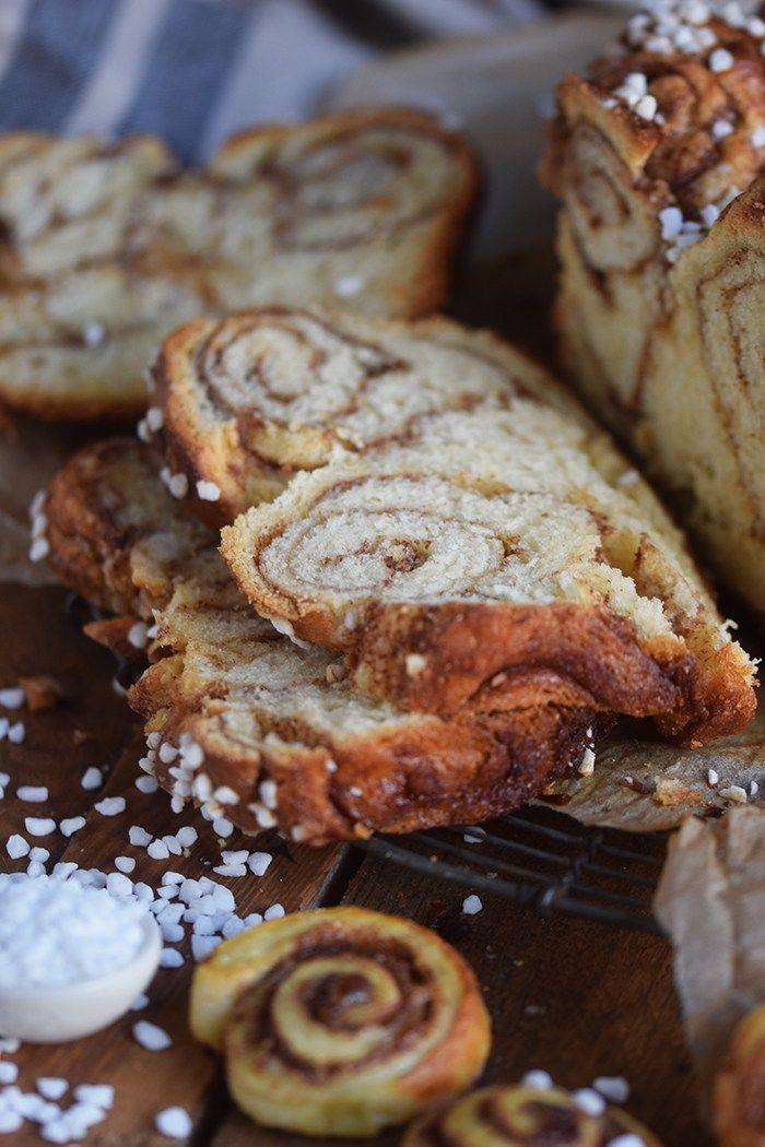 Zimtschnecken-Brot – Cinnamon Roll Bread