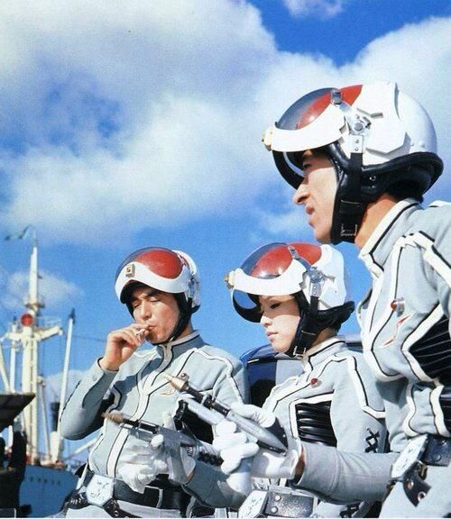 The TDF . . . TERRAN DEFENSE FORCE from ULTRA-SEVEN