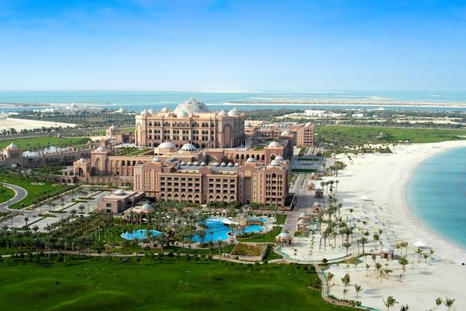 VIP Spas: Emirates Palace Spa  This may just be the world's most luxurious spa setting: https://www.spaguide.co.uk/blog/emirates-palace-spa/