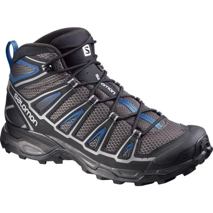 Salomon Men's X Ultra Mid Aero Hiking Boots. Hiking ShoesWaterproof Hiking  BootsOutdoorDeep WaterAeroProductsGrey ...
