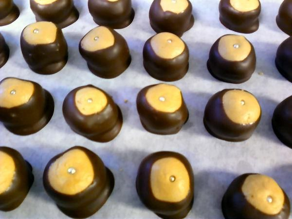 Best Buckeyes (Peanut Butter and Chocolate Candies) | Recipe