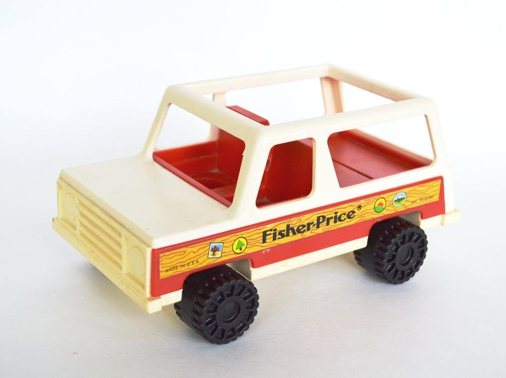 Little People Fisher Price Jeep 1979, Vintage Toy, Classic Car by Retrorrific on Etsy