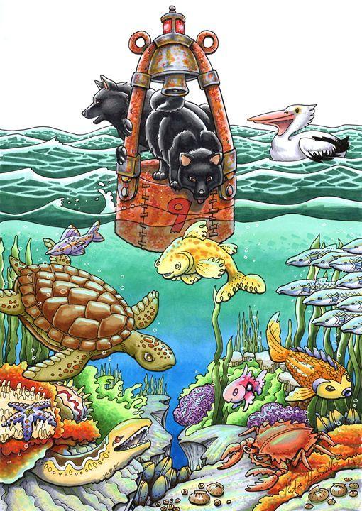 Schipperkes at Sea - Stuff by Peta
