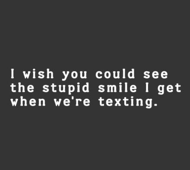 I wish you could. You would probably laugh and call me dork but I wouldn't mind, not at all