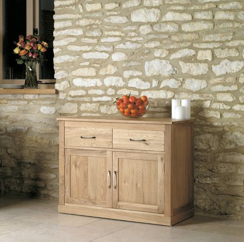 Mobel Oak Small Sideboard #oak #furniture #home #decor #interior #inspiration #traditional #diningroom #livingroom #lounge #sideboard #hall