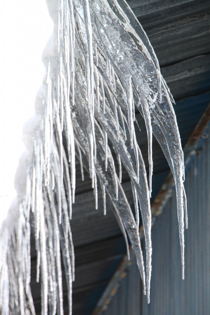 Ice Dams on Roof - Public Domain Photos, Free Images for Commercial Use