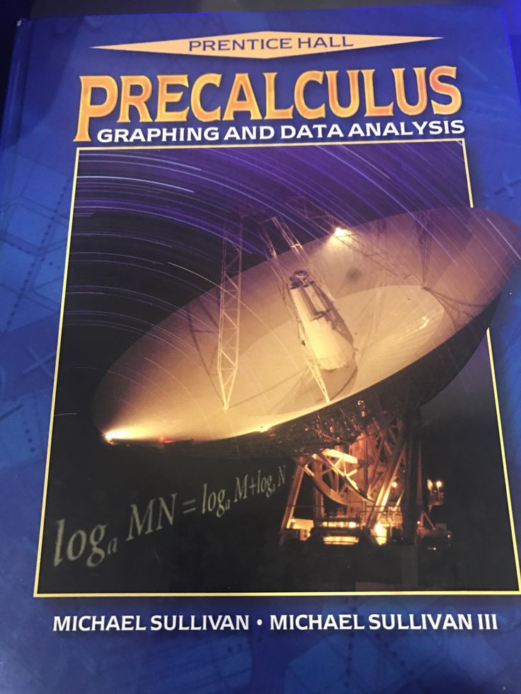 My precalculus textbook was written by Michael Sullivan and Michael Sullivan III skipping a generation.