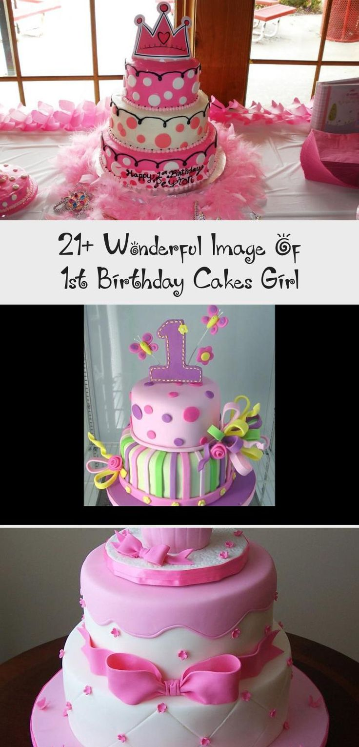 21+ Wonderful Image of 1St Birthday Cakes Girl . 1St
