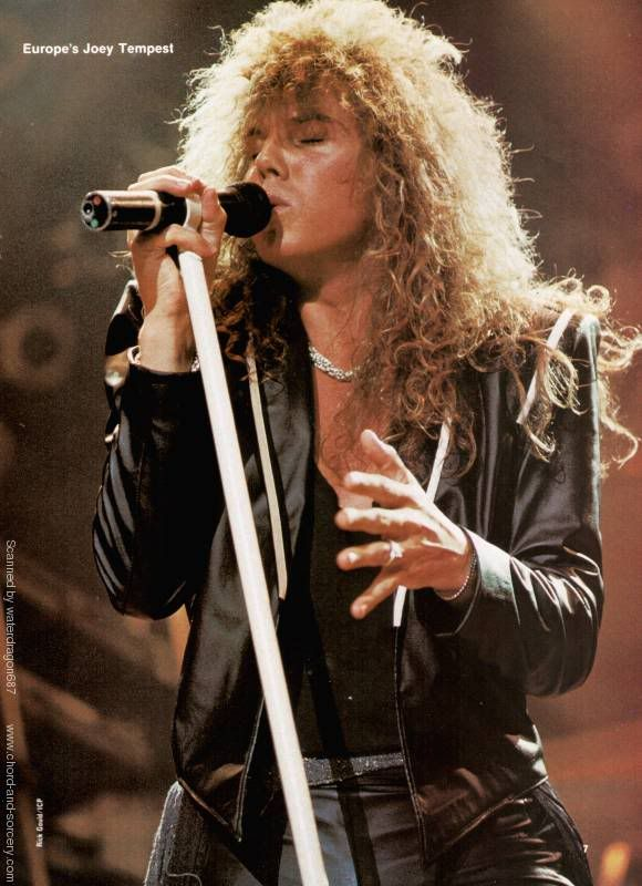 Joey Tempest Graphics Code | Joey Tempest Comments & Pictures