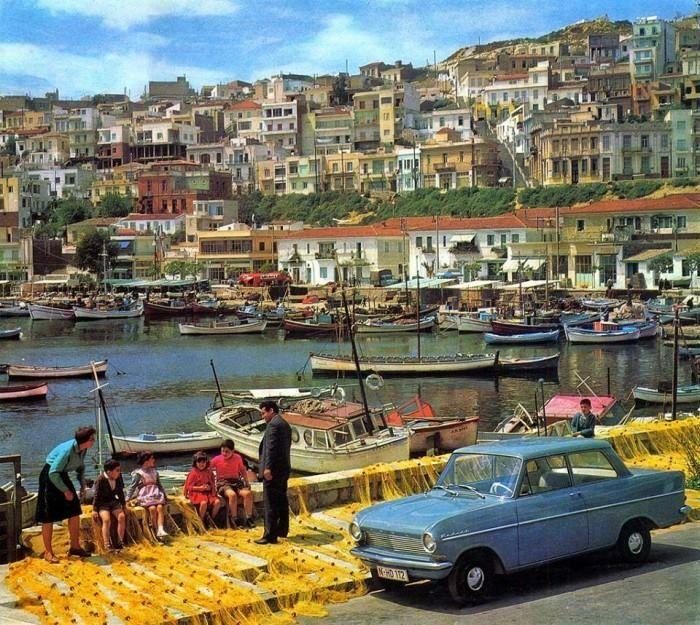 1965 ~ Mikrolimano, Piraeus