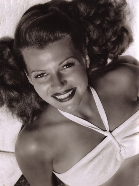 Rita Hayworth - beautiful.