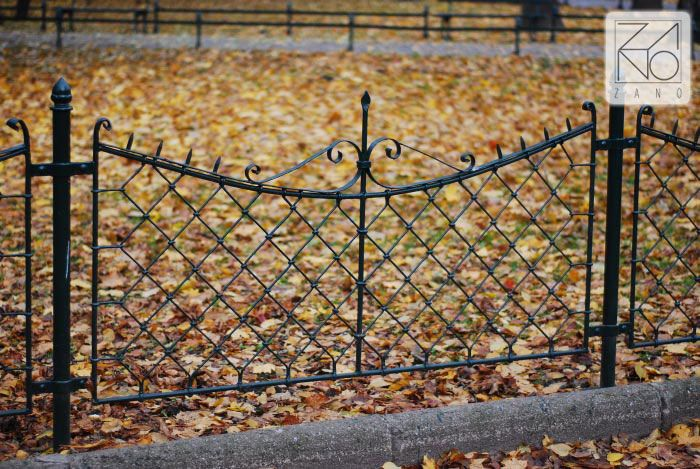 Park fences in Autumn...