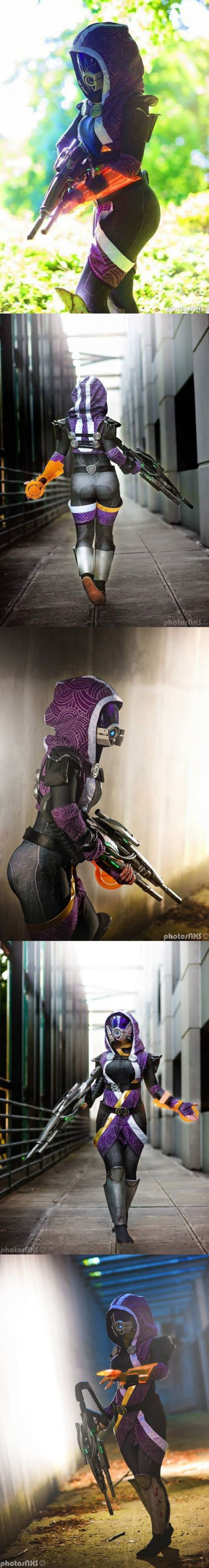 Tali cosplay by Jenna Lynn