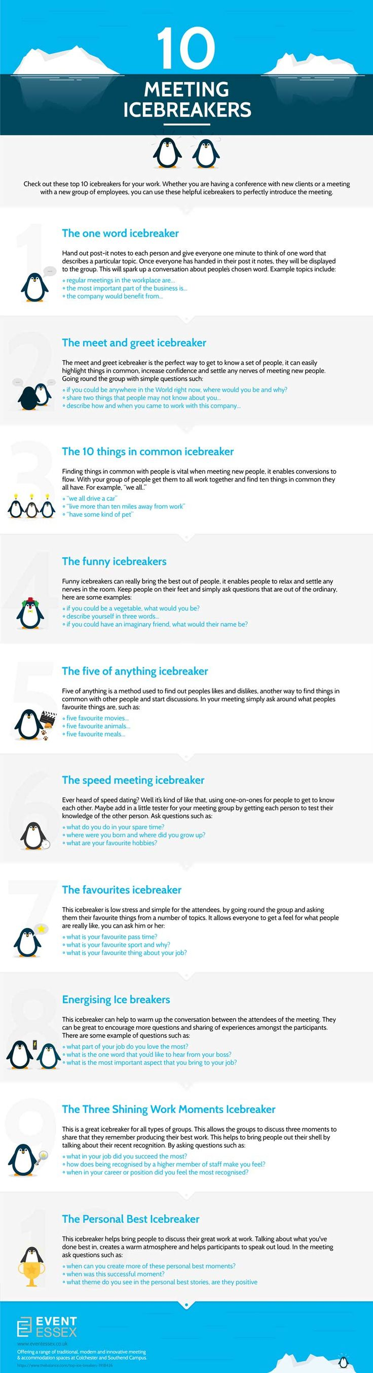 Dating icebreakers examples