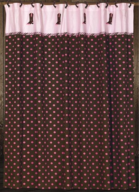 Pink Paisley Western Shower Curtain $79.95