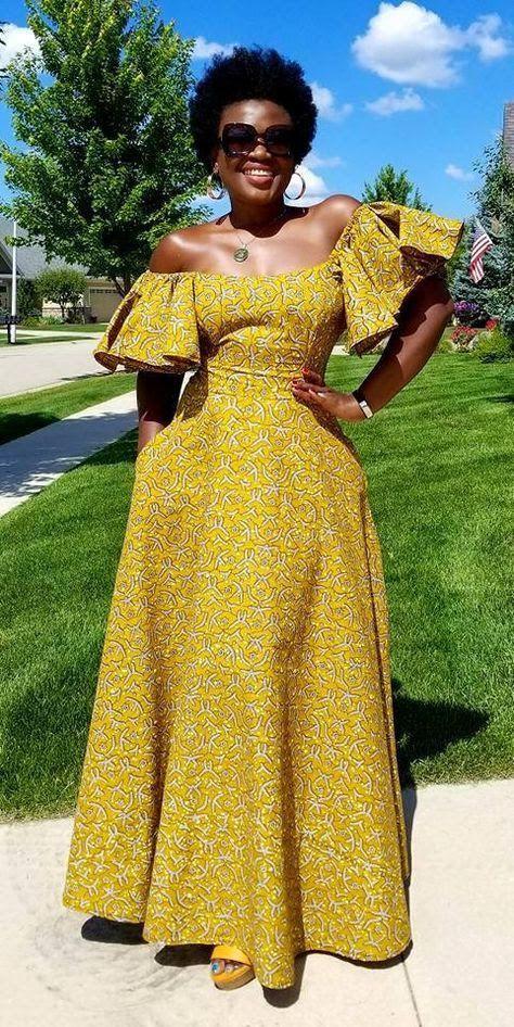 MULHERES - BELEZA, MODA E ESTILO : MULHERES - BELEZA, MODA E ESTILO in 2019 | African fashion, African attire, African dress
