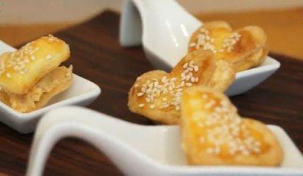 Videorecept: Plnené srdiečka so sezamom