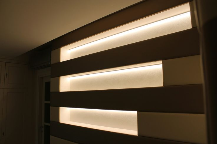 Stripes Paneling with led light