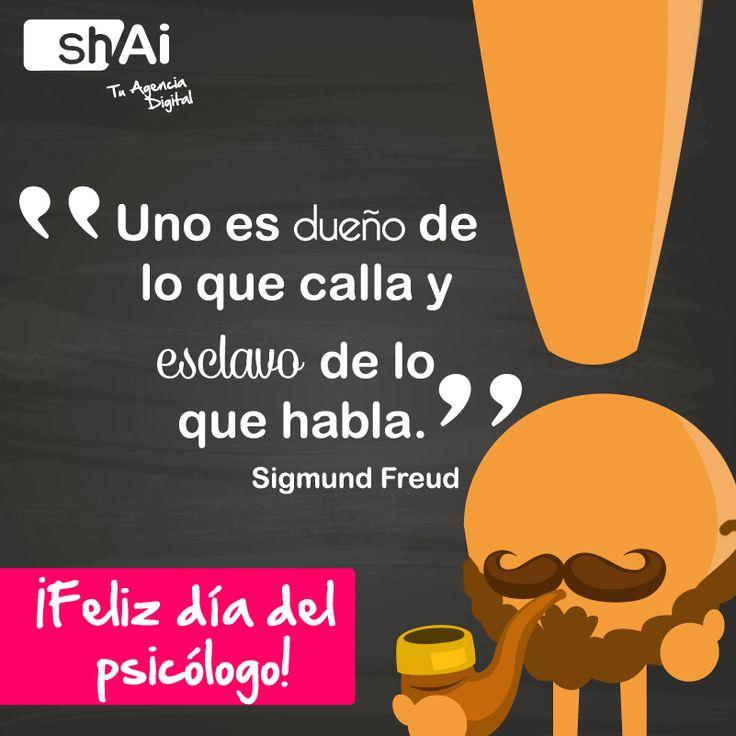 Feliz día del psicólogo #Frases #psicología