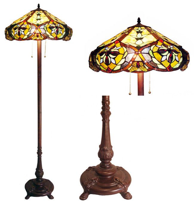 Found it at Wayfair.ca - Tiffany Style Victorian Floor Lamp with 636 Glass Pieces