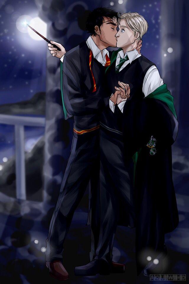 Картинки гарри поттер и драко малфой любовь