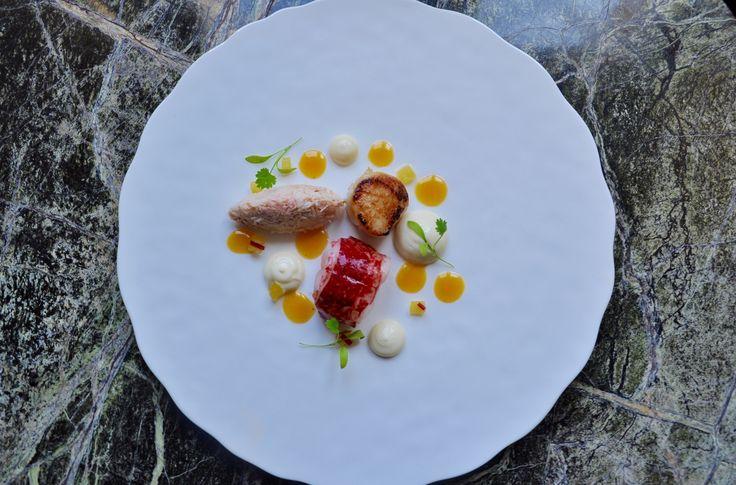 Stunning menus using local Devon produce at Langdon Court. Get a taste of the Westcountry.   #food #foodinspiration #foodphotography #foodheaven #foodlovers #restuarant #finedining #finedininglovers #devon #southhams