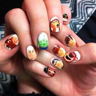 Los juguetes de Andy:   26 diseños artísticos de uñas increíblemente detallados