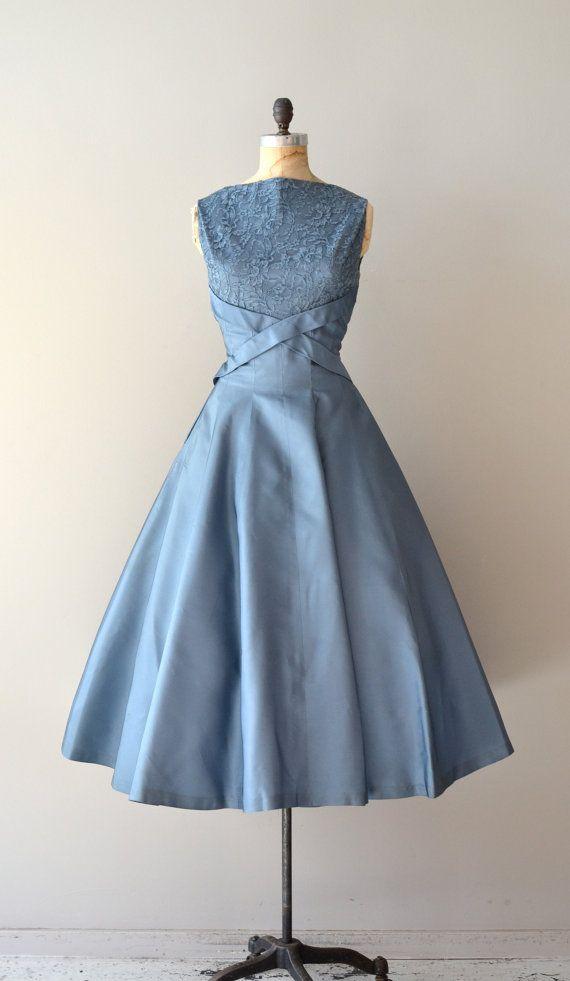 1950s dress / vintage 50s dress / Dream Beyond Time by DearGolden, $248.00--So gorgeous!