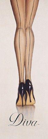 Diva, Marco Fabiano Print: 95cm x 33cm -