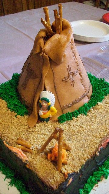 17 Best Images About Teepee Cake On Pinterest Cute Cakes