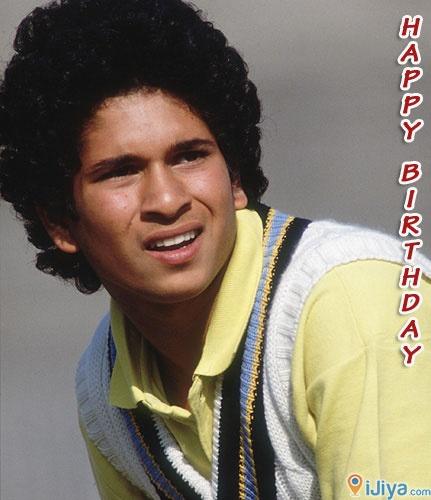 Happy B'Day Sachin Tendulkar  B'place @ http://ijiya.com/8235455