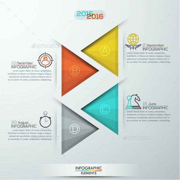 Modern Infographic Triangle Template PSD, Vector EPS, AI Illustrator