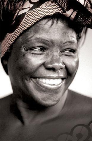 Wangari Maathai - Nobel Peace prize winner and Kenyan environmental & political activist
