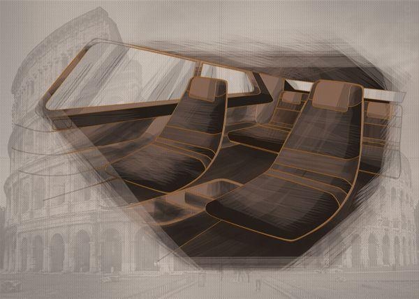 B - Design by Petros Vasiadis, via Behance