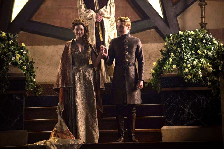 Margaery Tyrell and Tommen Baratheon (S5)