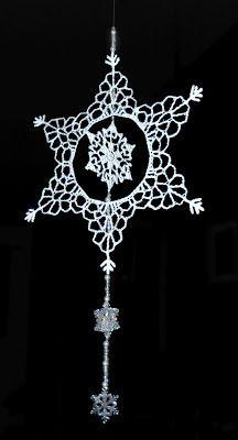 PATTERN - My Beaded Snowflake Ornament