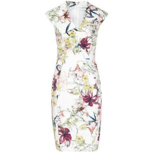 clmarelich0824:  Reiss Onie Printed Dress Sugar    liked on...