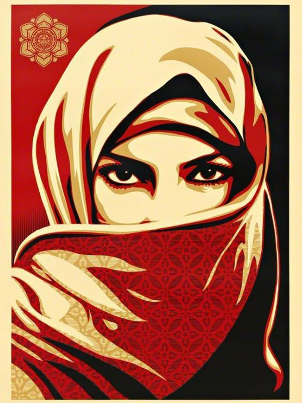 Shepard Fairey (born 1970, USA) | Universal Personhood 2, 2015